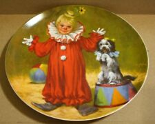 1982 Reco/Knowles Tommy the Clown Collector Plate