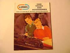 1968 Mint Train & Accessories Catalog