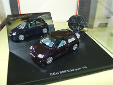 RENAULT CLIO SPORT V6 Purple UNIVERSAL HOBBIES