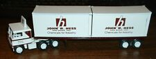 John R Hess & Sons Chemicals Cranston, RI '81 Container Load Winross Truck