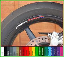 Fireblade HRC Rueda Llanta Calcomanías Stickers-elección de colores-Cbr 1000 929 900
