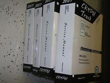 2007 Chevy Silverado GMC Sierra & SIERRA Denali Service Shop Repair Manual Set