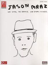 JASON MRAZ We Sing We Dance We Steel Guitar TAB Book