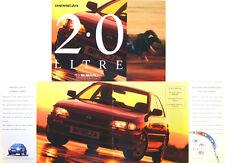 Subaru Impreza 2.0 GL 4WD Saloon & 5-dr 1995-96 Original UK Sales Brochure