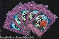 Lot of 5!  YU-GI-OH Secret Rare Promo JAPANESE Skull Dice Demon Dice #G5-05