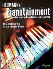 Klavier Noten : Heumann's PIANOTAINMENT - leichte Mittelstufe - 100 Hits