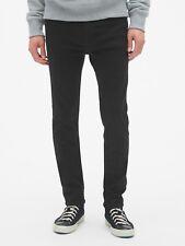 Gap Super Skinny Jeans with GapFlex, Sz 34X32 Basic Black