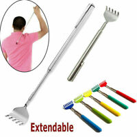 Portable Back Scratcher Stainless Steel Pocket Clip Telescopic Extendable
