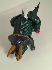 """💜 TRANSFORMERS TYPE ACTION FIGURE TOY APPROX 10"""" TRICERATOPS DINOSAUR TOY EUC"""