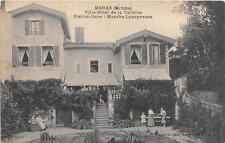CPA 26 MORAS VILLA HOTEL DE LA VALLOIRE STATION GARE MANTHE LAPEYROUSE