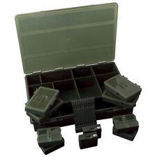 FOX Royale Deluxe sistema caricato Fox Scatola Grande Pesca Della Carpa Tackle Case Box Set