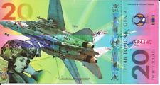 Usa banknote 20 dollars 2017 fighter planes