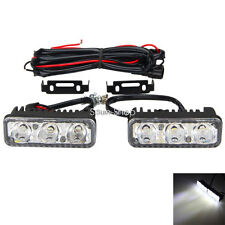 1Pair 6Led 9W Universal Car DRL Daytime Running Lights Aluminum Water For Toyota