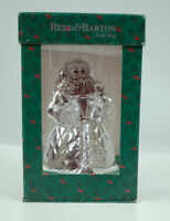 Reed Barton Santa Music Figure Revolves Plays Santa Clause is Coming to Town