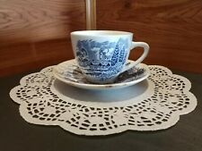 """Vintage Enoch Wedgwood """"Countryside"""" China Tea Cup & Saucer Set Made In England"""