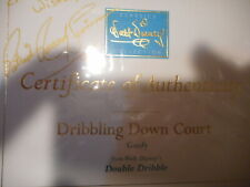 Walt Disney Classics Dribbling down court Coa only signed free dom ship/ins 2027