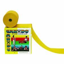CANDO Übungsband LATEXFREI 1,5m X-Leicht Gelb Leicht Fitnessband extra NEU