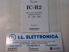 MANUALE IN ITALIANO istruzioni d'uso per ICOM IC-R2