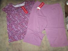 American Girl Purple Peacock pajamas for girls size LARGE 14-16  NWT  F5341