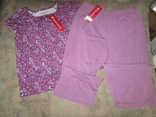 American Girl Purple Peacock pajamas for girls size XL 18-20  NWT  F5341