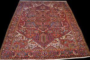 Heris 363x306 Heriz Carpet Rug Tapis Tappeto Orientteppich Perserteppich