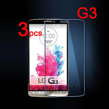 3 x HD Clear Screen Protector Guard Film For LG G3 D855 Protective Film