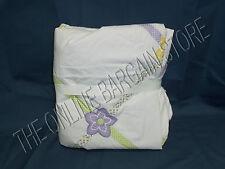 Pottery Barn Kids Lindsey Lattice Bed Duvet Cover Twin Lavender Floral Polka dot