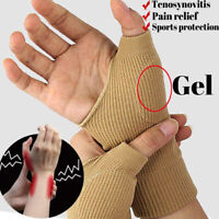 Wrist Thumb Support Hand Palm Brace Carpal Tunnel Arthritis Compression Gloves#