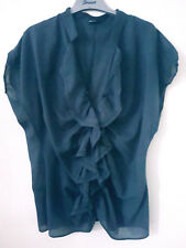 Expresso Niederlande Bluse Tunika ideal Büro 100% Cotton hauchzart Gr. 44    S54