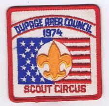 Activity Patch Scout Circus 1974 Dupage Area Council 704134