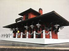 Lego Custom Train Station