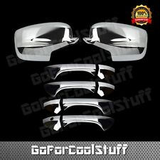 For 2008-2012 Honda Accord Chrome Full Mirror 4Drs Handle Covers