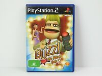 Buzz the Music Quiz Playstation 2 PS2 Game Complete PAL