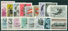 Österreich Jahrgang 1963 Michel Nr. 1128-1144 postfrisch