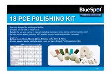 18pc Polishing Kit Drill Mounted Cotton Buffing Wheels and 6 Polishing Compounds