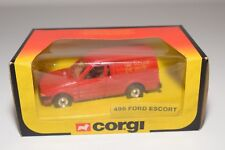 ^ CORGI TOYS 496 FORD ESCORT 55 VAN ROYAL MAIL MINT BOXED