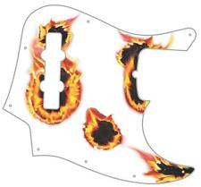 J Bass Pickguard Custom Fender Graphic Graphical Guitar Pick Guard Hot Pickup WH