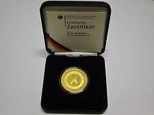 DEUTSCHLAND 200 EURO MÜNZE IN GOLD FEINGOLD 1UNZE GOLDMÜNZE WÄHRUNGSUNION 2002 G
