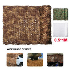 Camo Net Cover Camouflage Netting Hunting Shooting Camping Army Hide Colors