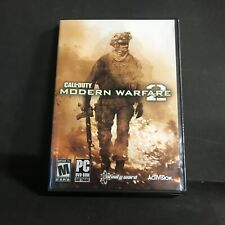 Call of Duty: Modern Warfare 2 (PC, 2009) With Case