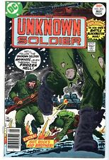 The Unknown Soldier #205, Very Fine - Near Mint Condition'