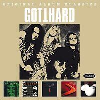 GOTTHARD - ORIGINAL ALBUM CLASSICS (BOX-SET 5CDs) NEU