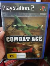 Combat Ace (no booklet) - PLAYSTATION 2 PS2 - FREE POST
