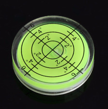 Spirit Bubble Degree Mark Surface Level Round Circular Measuring Meter 32x7mm ψ