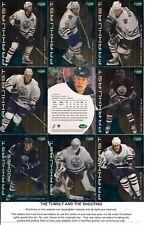 2001-02 Parkhurst by ITG Edmonton Oilers Regular Team Set (12)