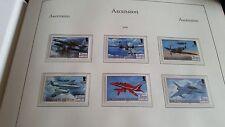 Ascension Island 2008 SG 1010-1015 90TH anniv de la Royal Air Force neuf sans charnière