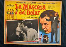 THE JOKER IS WILD FRANK SINATRA MITZY GAYNOR Kiss LOBBY CARD 1957