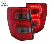 ANZO L.E.D TAIL LIGHTS RED/SMOKE FOR 99-04 JEEP GRAND CHEROKEE  #311180