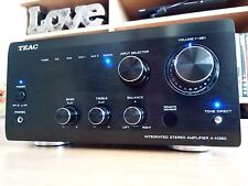 TEAC A-H380 Integrated Stereo Amplifier 300 Reference series black amp mkiii