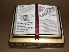 Eternal Reflections Keepsake Open Bible Urn 288 cu. in. Funeral Cremation Ashes